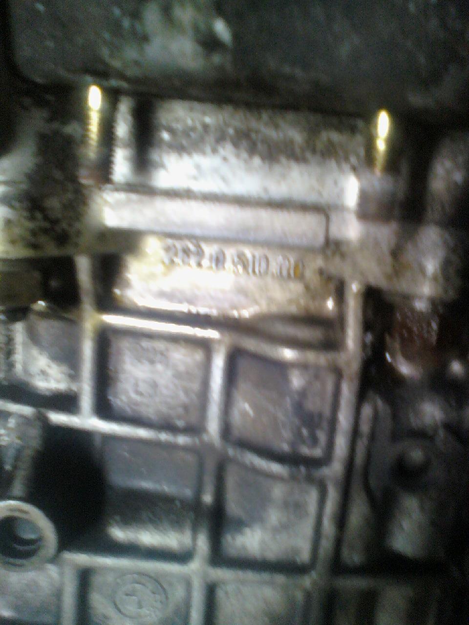 [BMW 530 i E34] Boîte de vitesses inconnue 09081112
