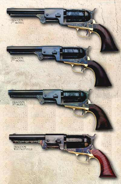 Le Colt DRAGOON WHITNEYVILLE  Uberti Bpdrag10