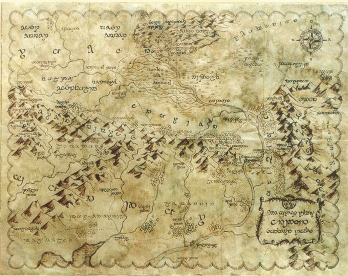 Cartes de la Terre du milieu 310