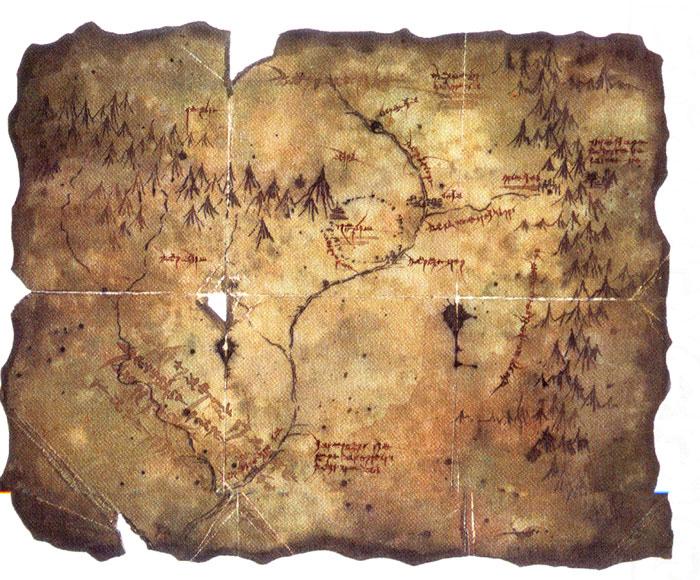 Cartes de la Terre du milieu 410
