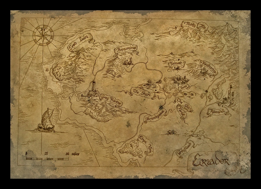 Cartes de la Terre du milieu Bilbo_10