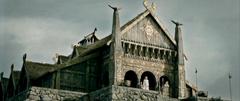 Le château d'or de Meduseld