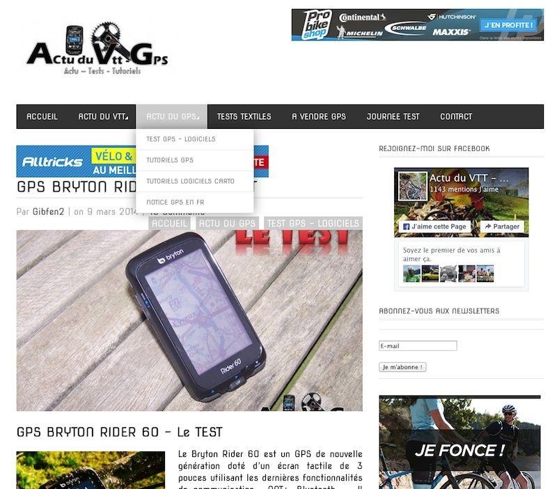 Information fonctionnement GPS Captur22