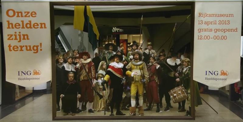 La ronde de nuit de Rembrandt 1642. Sans_t10