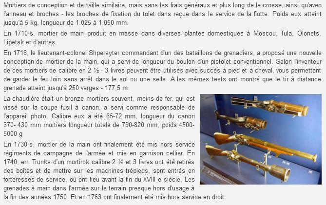 Grenades et grenadiers aux XVII° et XVIII° siècles. Sans_t27