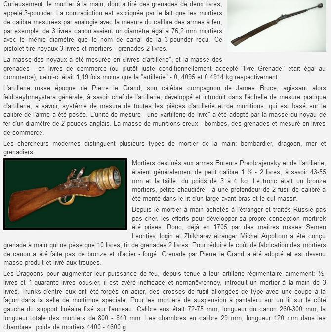 Grenades et grenadiers aux XVII° et XVIII° siècles. Sans_t29
