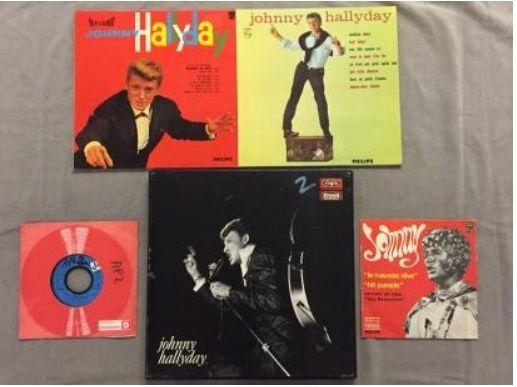 Enchère VINYLES RADIO FRANCE JOHNNY HALLYDAY Captur35