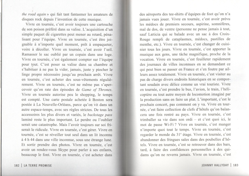 [livre] La terre promise Johnny Hallyday et Philippe Manoeuvre Img14910