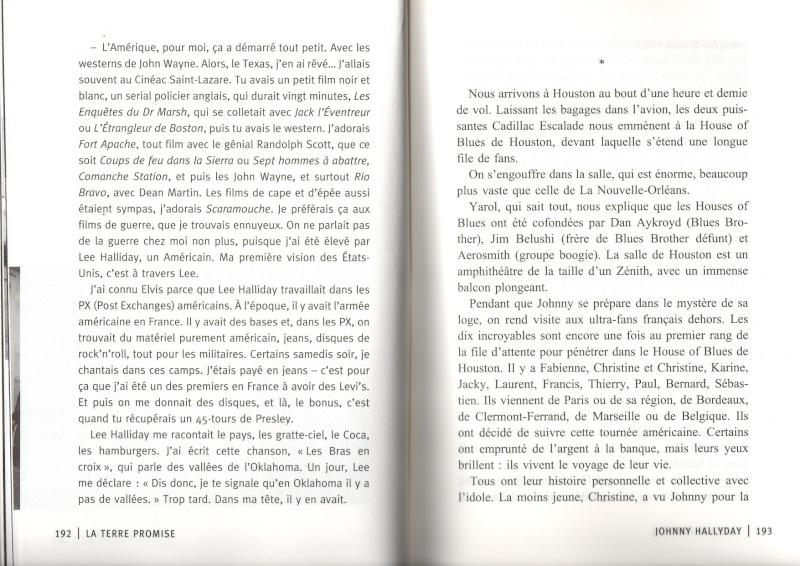 [livre] La terre promise Johnny Hallyday et Philippe Manoeuvre Img15410