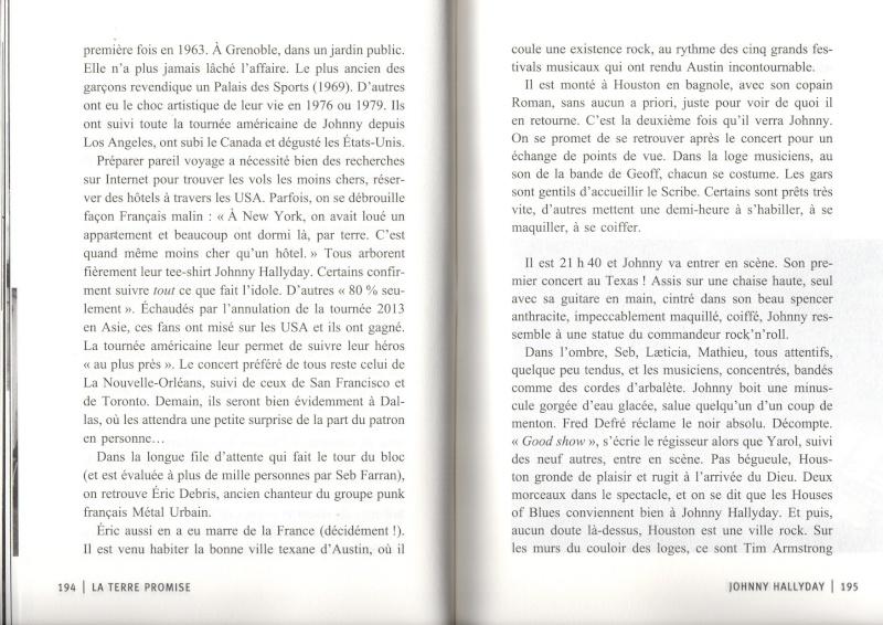 [livre] La terre promise Johnny Hallyday et Philippe Manoeuvre Img15510