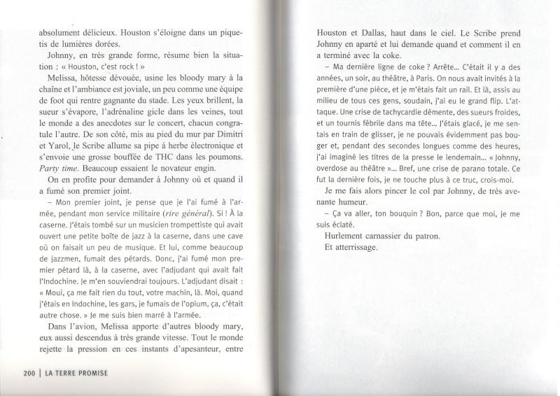 [livre] La terre promise Johnny Hallyday et Philippe Manoeuvre Img15810