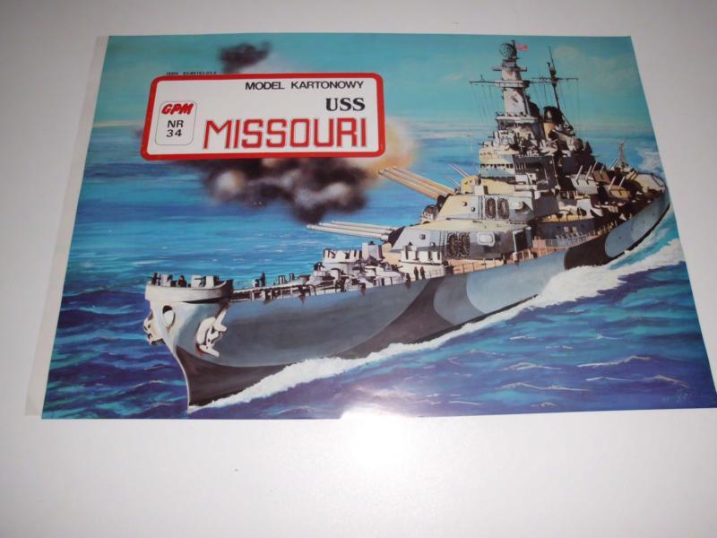USS Missouri von GPM Nr 34 1:200 gebaut von Herbert Dsci1727