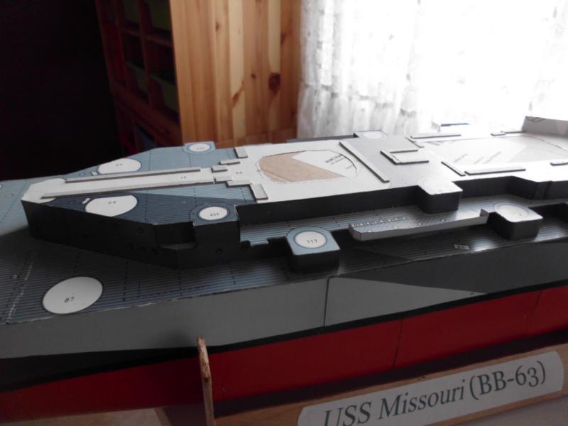 USS Missouri von GPM Nr 34 1:200 gebaut von Herbert - Seite 2 Dsci1837