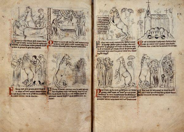 Bandes dessinées médiévales - Page 3 146v1410