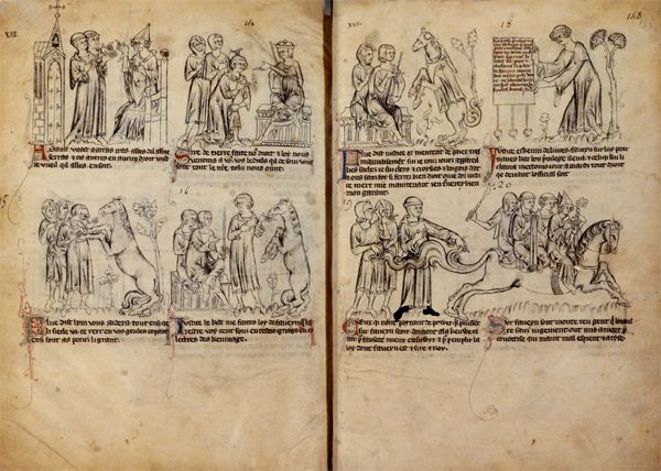 Bandes dessinées médiévales - Page 3 147v1410