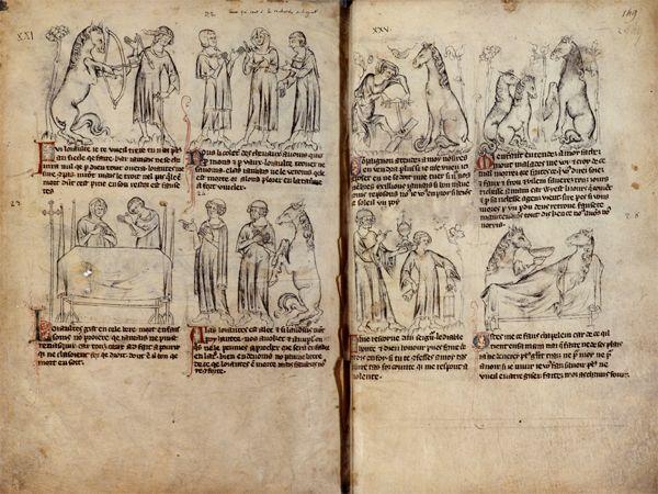 Bandes dessinées médiévales - Page 3 148v1410