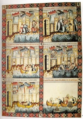 Bandes dessinées médiévales - Page 3 Cantig11