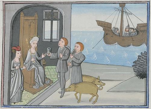 Bandes dessinées médiévales - Page 5 Christ10