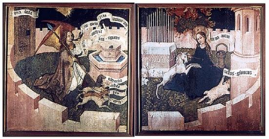 Bandes dessinées médiévales - Page 3 Dyptiq10