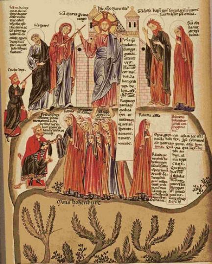 Bandes dessinées médiévales - Page 3 Fondat10