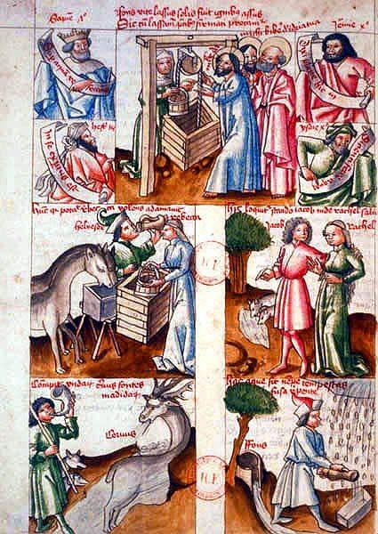 Bandes dessinées médiévales - Page 3 Hortus10