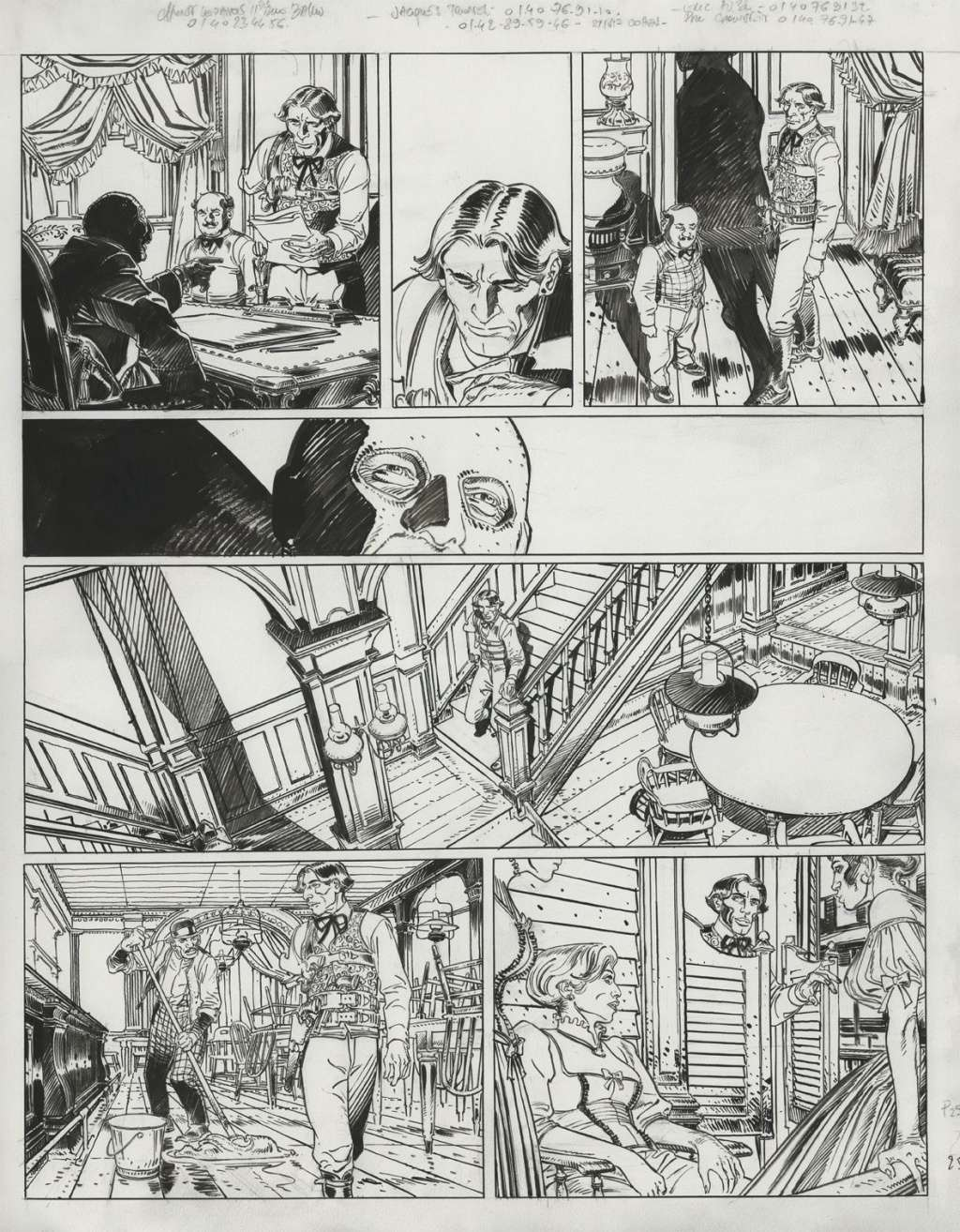 Francois Boucq, un style oscillant entre réalisme cru et humour absurde - Page 3 Boucq-12