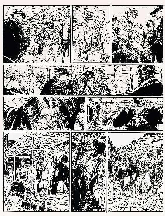 Francois Boucq, un style oscillant entre réalisme cru et humour absurde - Page 3 Boucqb10