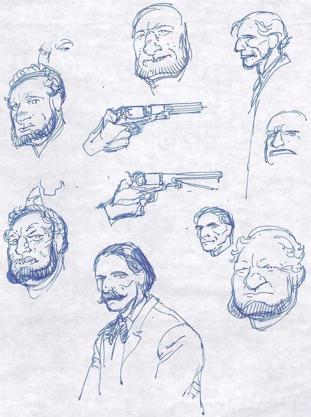 Francois Boucq, un style oscillant entre réalisme cru et humour absurde - Page 3 Boucqe13