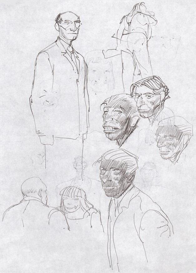 Francois Boucq, un style oscillant entre réalisme cru et humour absurde - Page 3 Boucqe14