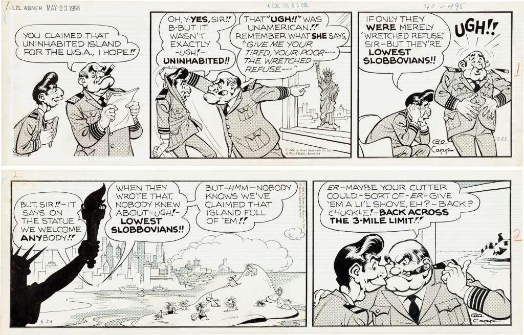 Un maître de la parodie : Al Capp - Page 7 Cappne12