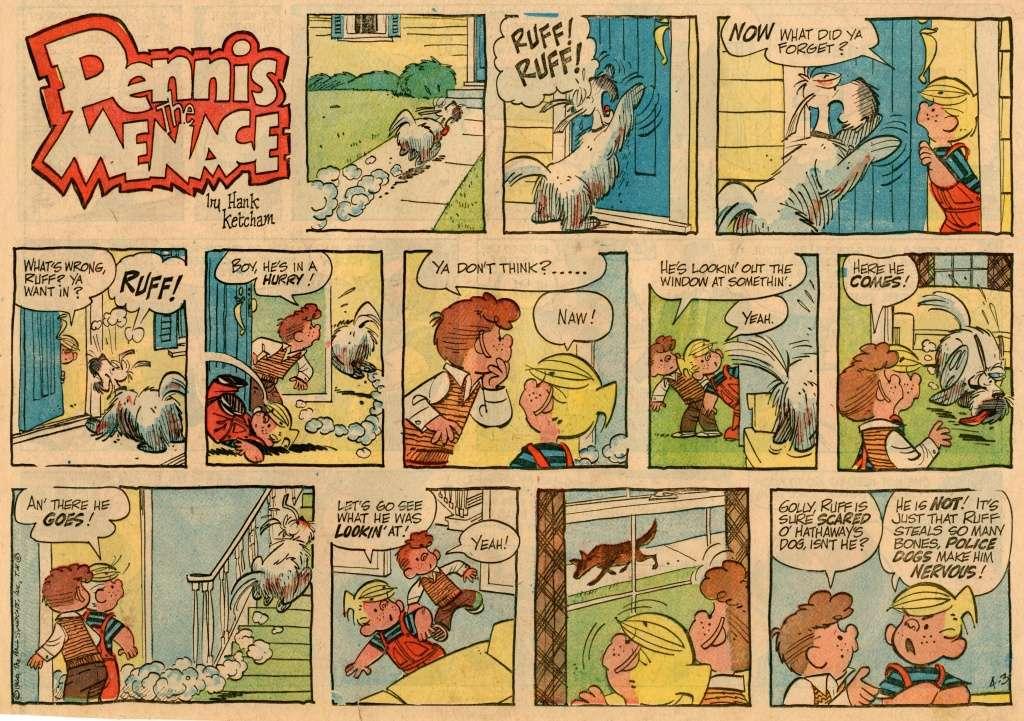 Hank Ketcham et Dennis the Menace ( Denis la Malice ) - Page 4 Dennis11