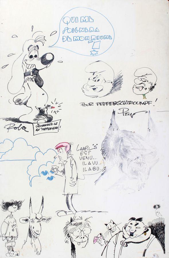 Les dessins ou dédicaces à plusieurs mains - Page 2 Divers11