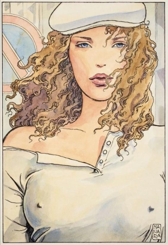 Manara, du côté d'Eros...et d'ailleurs - Page 4 Manara11