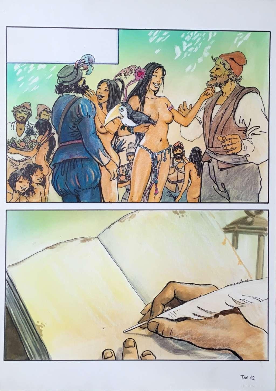 Manara, du côté d'Eros...et d'ailleurs - Page 4 Manara13