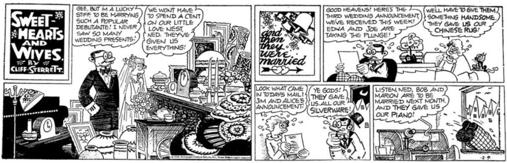 Cliff Sterett, auteur de Polly and her pals - Page 3 Sterre10