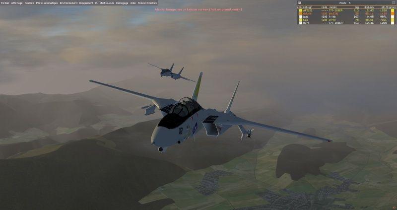 Un F14 en méditerranée ? Fgfs-s13