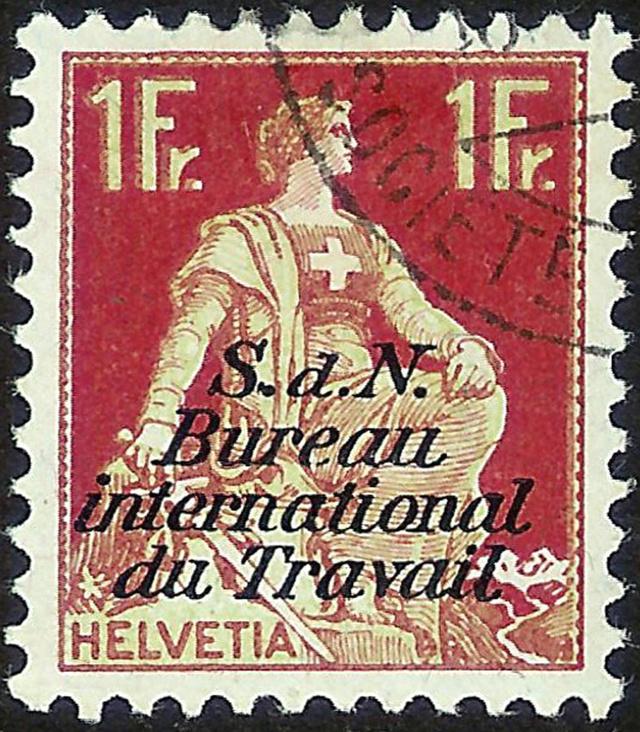 SBK 11y (Mi 11y) BIT - Internationales Arbeitsamt Genf 115_1_10