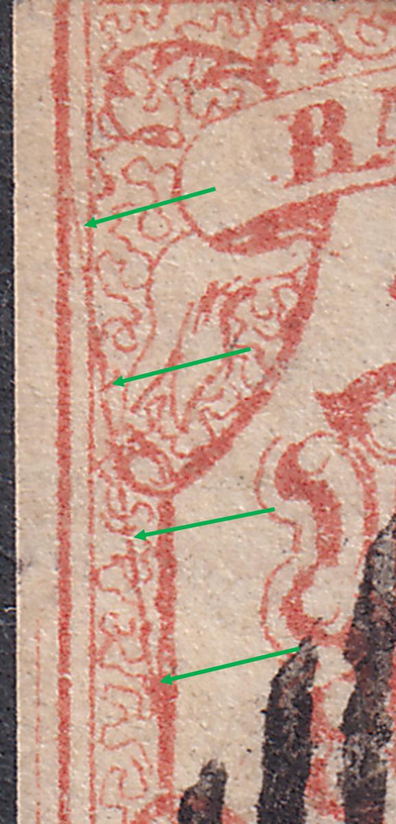 SBK 18 (Mi. 10), Rayon III, Rappen 18-2-010