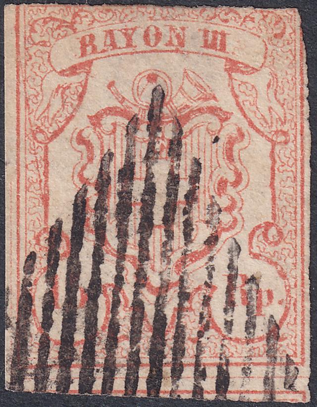 SBK 18 (Mi. 10), Rayon III, Rappen 18-2-011