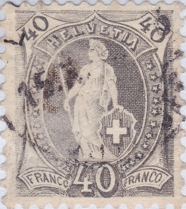 SBK 70A, Stehende Helvetia 50 Rp 19_tif10