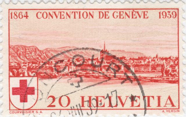 SBK 240 (Mi 357) Stadt Genf 20 Rp. rot 240_3_11