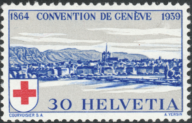 SBK 241 (Mi 358) Stadt Genf 30 Rp. blau 241-3-10