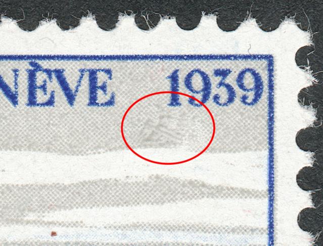 SBK 241 (Mi 358) Stadt Genf 30 Rp. blau 241-3-11