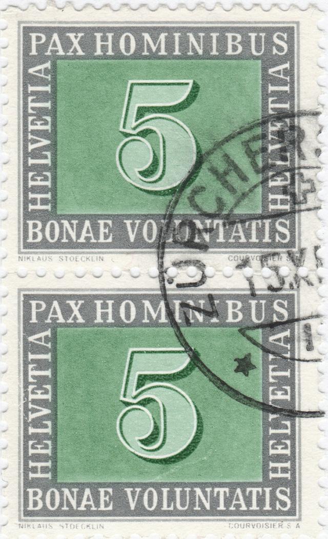 SBK 262 (Mi 447) PAX-Marke 5 Rp 262_4_11