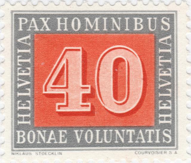 SBK 266 (Mi. 451) PAX-Marke 40 Rp. 266_4_11