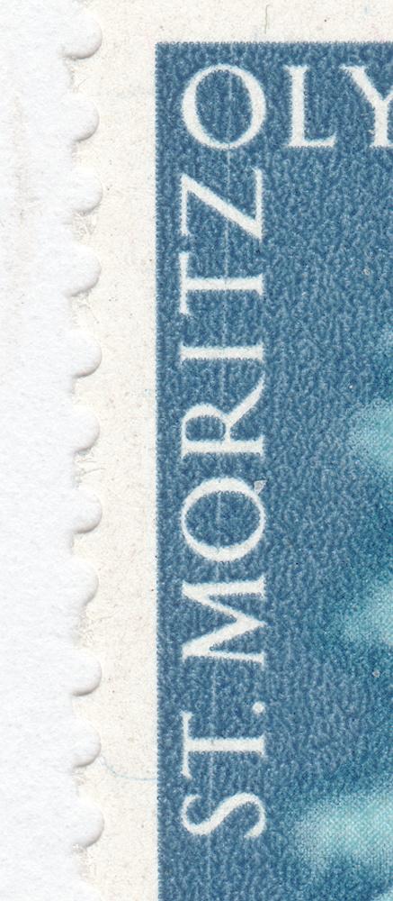 SBK W28w (Mi. 495x), Gedenkausgabe Olympische Winterspiele 1948, St. Moritz 28w_2_10