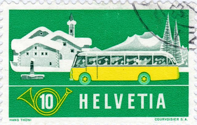 SBK 314 (Mi 586) Alpenpost im Winter 314_2_10