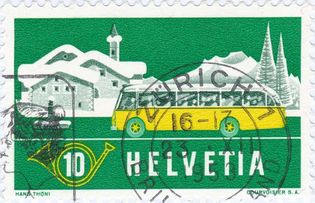 SBK 314 (Mi 586) Alpenpost im Winter 314_2_13