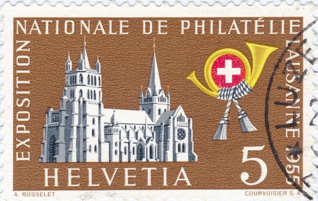 SBK 320 (Mi 607) Kathedrale von Lausanne 320_2_11