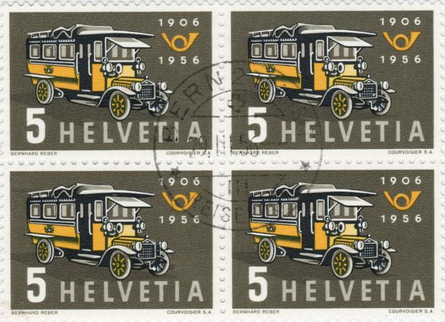 SBK 324 (Mi 623) Erstes Postauto 324_2_12